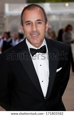 NEW YORK - MAY 18: Matt Lauer attends the 69th Annual American Ballet Theatre Spring Gala at The Metropolitan Opera House on May 18, 2009 in New York City. - stock photo