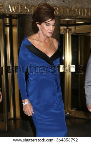 NEW YORK - NOV 9, 2015: Caitlyn Jenner attends the 2015 Glamour Women of the Year after party on November 9, 2015, in New York.