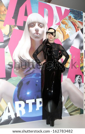 NEW YORK - NOV 10: Lady Gaga attends the record release party event for new album 'ARTPOP' at the Brooklyn Navy Yard on November 10, 2013 in New York.