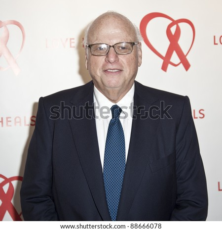 NEW YORK - NOVEMBER 09: Howard Lorber attends Love Heals The Alison Gertz Foundation For AIDS Education 20th Anniversary gala at the Four Seasons Restaurant on November 9, 2011 in New York City, NY. - stock photo
