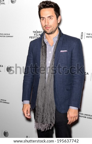 NEW YORK, NY - APRIL 18: Actor Ed Weeks attends the 'Alex of Venice' screening during the 2014 Tribeca Film Festival at SVA Theater