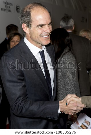 NEW YORK, NY - APRIL 21: Actor Michael Kelly attends Tribeca Talks: After the Movie: 'NOW: In the Wings on a World Stage' during the 2014 Tribeca Film Festival at BMCC Tribeca PAC