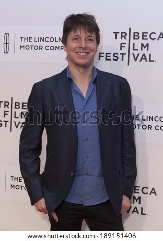 NEW YORK, NY - APRIL 24, 2014: Joshua Bell attends 'Third Person' screening during the 2014 Tribeca Film Festival at BMCC