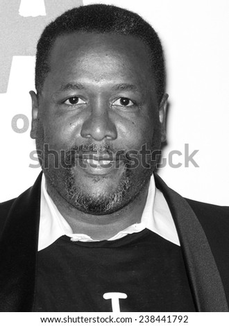 NEW YORK, NY - DECEMBER 14, 2014: Actor Wendell Pierce attends the 'Selma' New York Premiere at the Ziegfeld Theater
