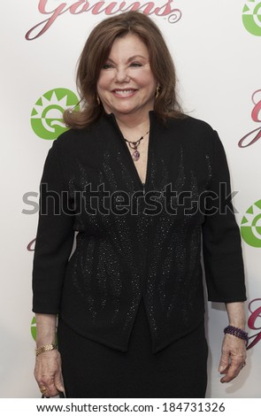 NEW YORK, NY - MARCH 29, 2014: Actress Marsha Mason attends the 28th annual Night of a Thousand Gowns at the Marriott Marquis Times Square