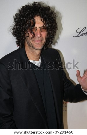 NEW YORK, NY - OCTOBER 20: Howard Stern attends the 2009 Angel Ball on October 20, 2009 in New York City. - stock photo
