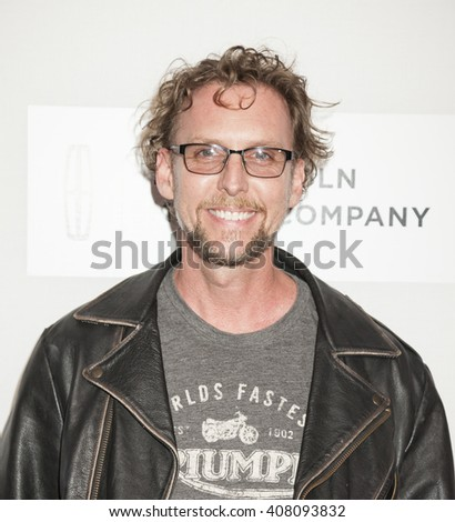 New York, NY, USA - April 14, 2016: Actor Jayson Warner Smith attends 'The Devil And The Deep Blue Sea' premiere during the 2016 Tribeca Film Festival at the John Zuccotti Theater at BMCC Tribeca PAC - stock photo