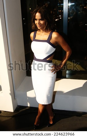 NEW YORK-OCT 16: Actress Halle Berry attends God's Love We Deliver, Golden Heart Awards on October 16, 2014 in New York City.  - stock photo