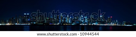 New York Panorama - Manhattan Skyline - stock photo
