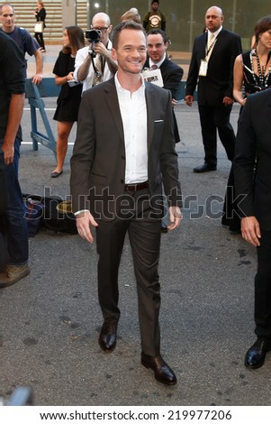 "NEW YORK-SEP 26: Actor Neil Patrick Harris attends the world premiere of ""Gone Girl"" at the 52nd New York Film Festival at Alice Tully Hall on September 26, 2014 in New York City."