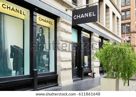 new york september 7 chanel luxury stock photo royalty free 611861648 shutterstock. Black Bedroom Furniture Sets. Home Design Ideas