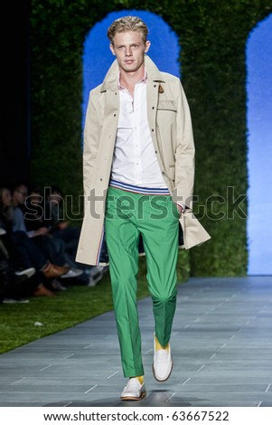 NEW YORK - SEPTEMBER 12: Tommy Hilfiger spring summer 2011 fashion show at New York fashion week on September 12, 2010 in New York, New York - stock photo
