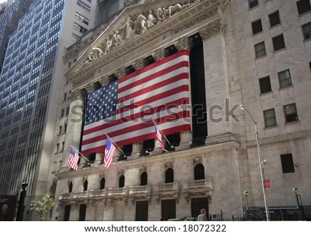 New York Stock Exchange - stock photo