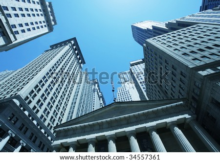 New York street - stock photo
