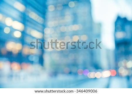 NEW YORK STREET BACKGROUND - stock photo