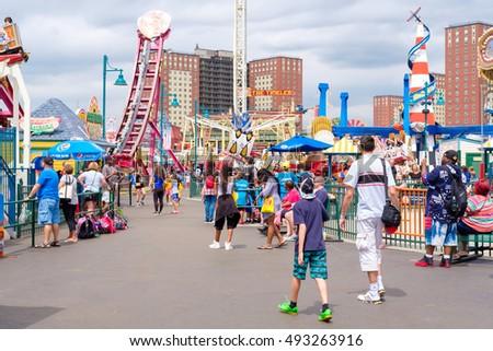 Vacation Coney Island October
