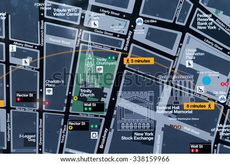Manhattan Map Stock Images RoyaltyFree Images Vectors - Lower manhattan us map