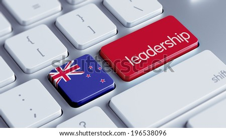 New Zealand High Resolution Leadership Concept