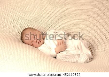 newborn - stock photo