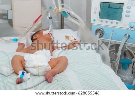 child breathing machine