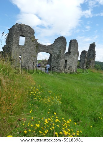 Newcastle-Emlyn Castle Mid Wales