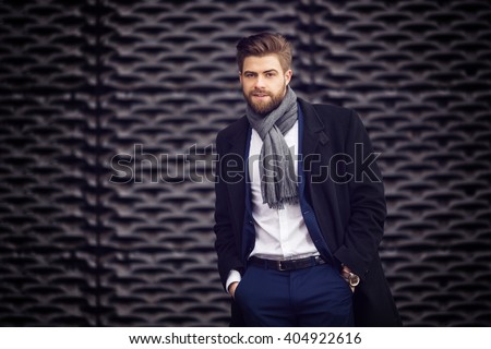 Newest fashion for the men - stock photo