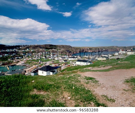 Newfoundland - Bay de Verde, Canada - stock photo