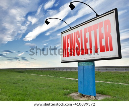 newsletter latest news bulletin hot breaking and latest news icon - stock photo