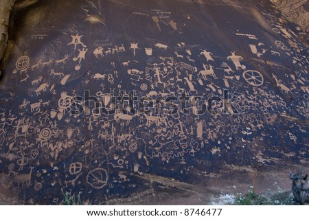 Newspaper Rock Recreation Site - Utah
