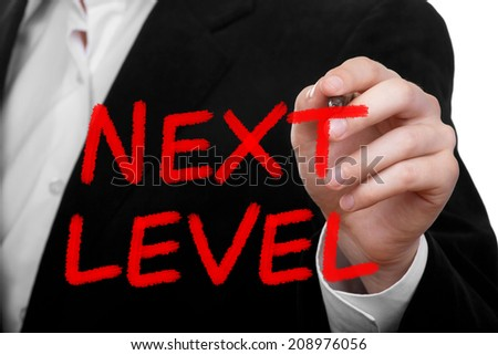 Next Level. Business concept - stock photo