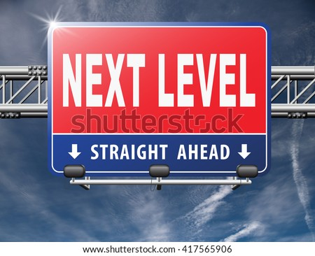 next level in gaming, play game button or icon higher difficult levels