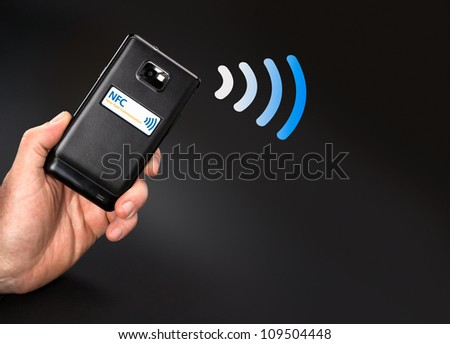 NFC - Near field communication / contactless payment with mobile phone