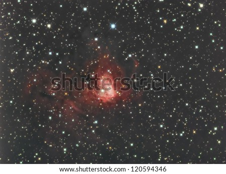 NGC1491 in Perseus - stock photo