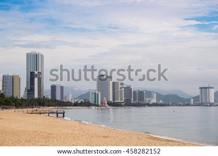 Nha Trang city,south of Vietnam.
