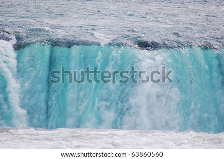 Niagara Fall, Canadian side - stock photo