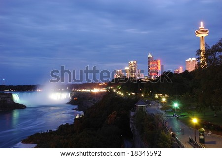Niagara Falls - stock photo