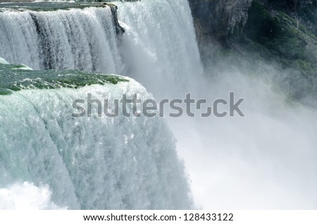 Niagara Falls close-up