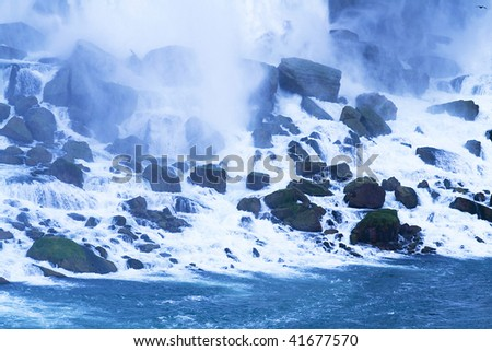 Niagara Falls - ontario, NY - stock photo
