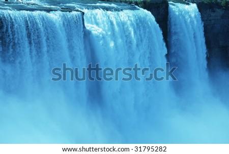 Niagara waterfall - stock photo