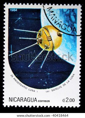 stock-photo-nicaragua-circa-a-stamp-prin