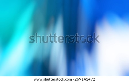 Nice abstract blur background. Smooth beautiful bokeh. Blue color.  - stock photo