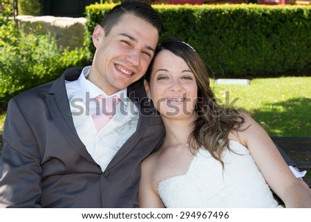 Nice and Very lovely happy couple outside