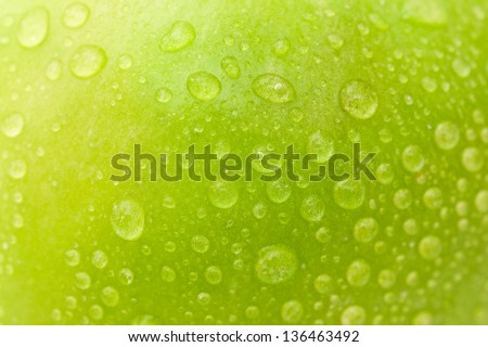 Nice apple - stock photo