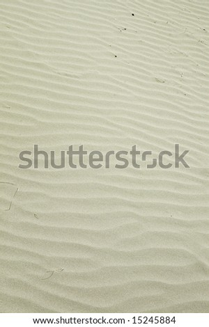Nice beach sand texture on the summer time. - stock photo