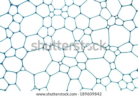 Nice blue mosaic grid formed of many lines and shapes - stock photo