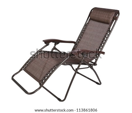 nice chair isolates ready to use - stock photo