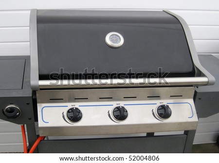 Nice clean BBQ that's what they should look like. - stock photo
