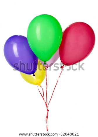 Stock images royalty free images vectors shutterstock for Balloon string decorations