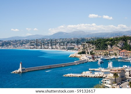 Nice France - stock photo
