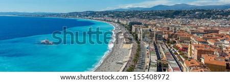 Nice panorama - stock photo